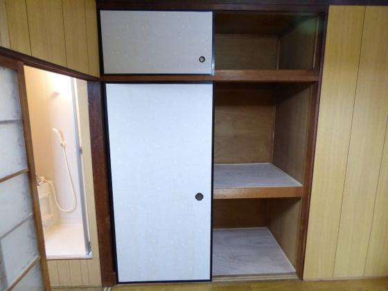 収納収納スペースが充実のお部屋。