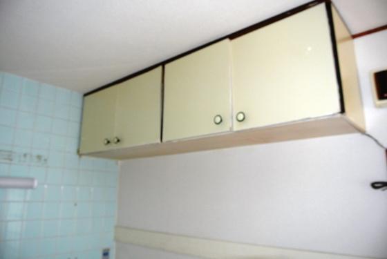 収納キッチンの収納です